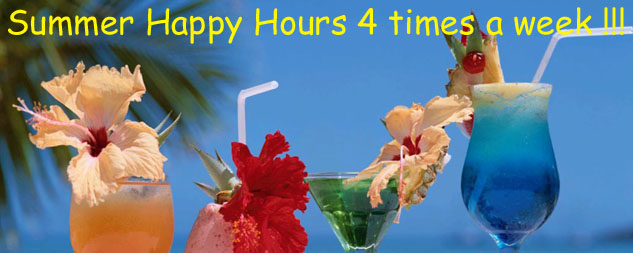 summer happy hours